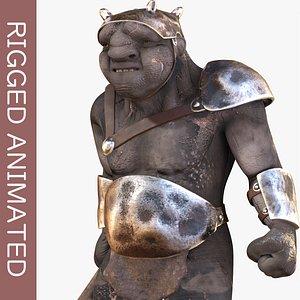Armed Troll 3D model