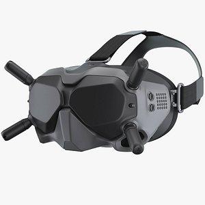 3D DJI FPV Goggles V2