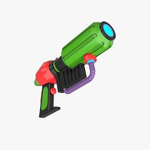 Toy Gun 6 3D model