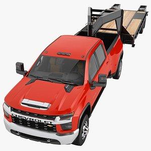 3D Chevrolet Silverado 3500 HD 2021 05 model