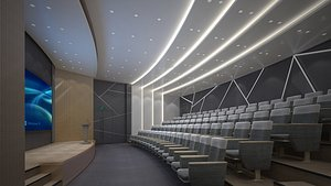 Lecture Hall 19 3D model