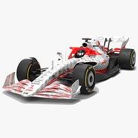 Formula 1 Season 2022 F1 Race Car Concept