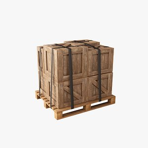 3D pallet industrial crate