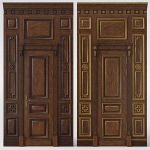3D Door 02 700 08 model