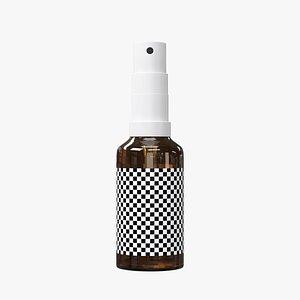 3D Medical Spray Bottle 30ml model