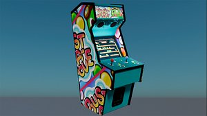 3D Arcade game machine