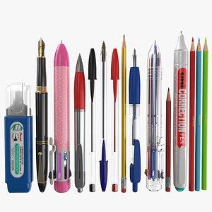 3D Pens Collection model