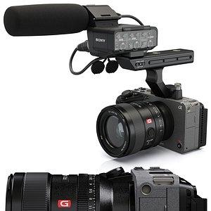 Sony FX3 Cinema Line 3D model