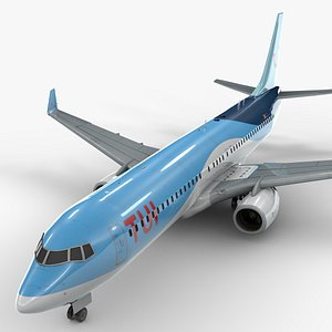 boeing 737-8 tui airlines 3D