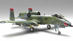 3D aircraft 10