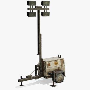 generator light 3D model