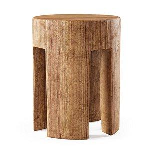 wooden stool pols model