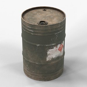 3D drum container