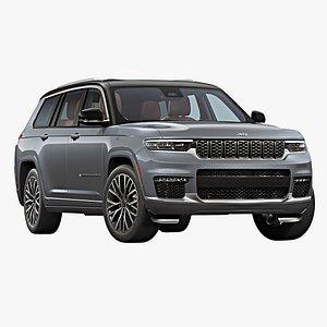 2021 Jeep Grand Cherokee L 3D model