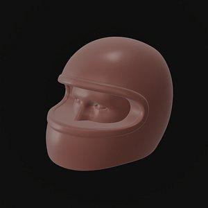3D model Racing Helmet