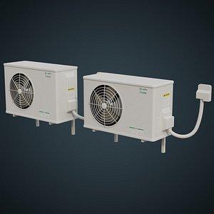 Air Conditioner 6C 3D model