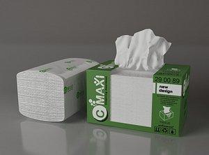 box tissue 3D