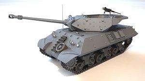 17pdr SP M10 Achilles Tank Destroyer 3D model