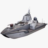 USV JARI Military AI Drone Ship