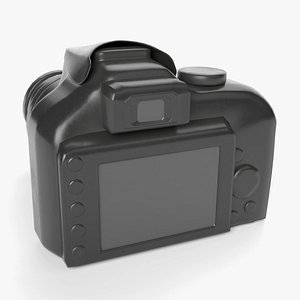 camera device 3D model