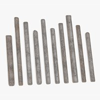 Wood Planks 10 Piece Collection - Modular