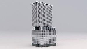 new york plaza 3D