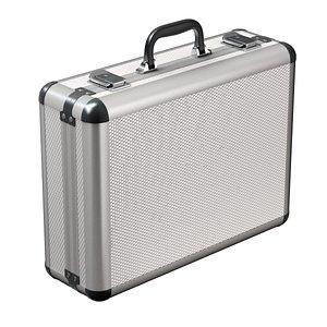 3D briefcase case metal