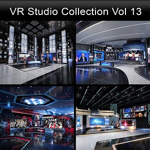 VR Studio Collection Vol 13 3D