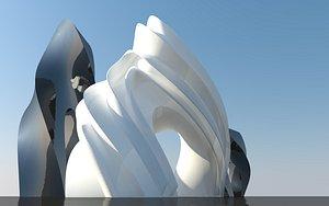 3D Architecture Shapes