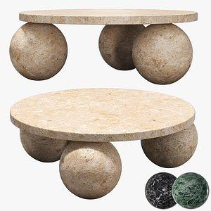 3D Kelly Wearstler morro coffee table