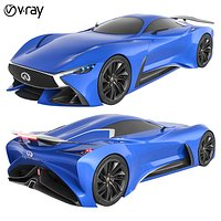 Infiniti Vision GT Concept Blue