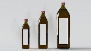 olive bottles model