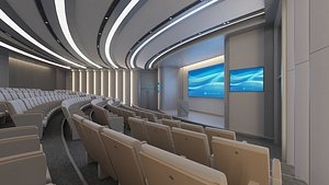 Lecture Hall 17 3D model