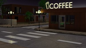 coffee lofi 3D model