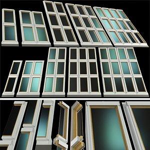 roof windows skylights 3D model