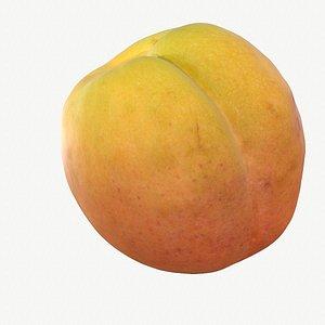 02 hy apricot fruit 3D model
