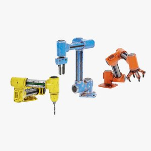 3D model Robotic Arms Used
