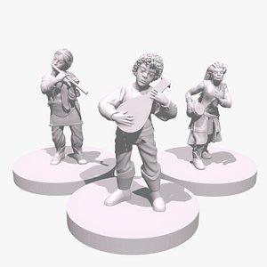 3D miniature miniaturelas