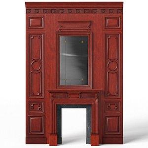 Fireplace 01 010 3D model
