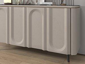 3D Side cabinet model