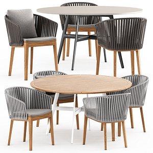 3D MOOD Chair  and SEAX table
