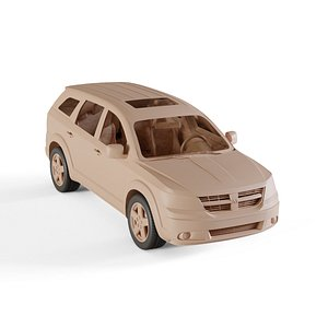 3D model 2009 Dodge Journey