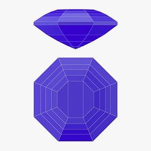 Marigold Gemstone - Printable 3D model