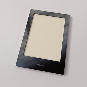 3D ebook reader