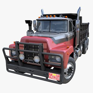80s Industrial dump PBR 3D model