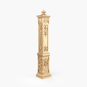 Carved Pillar model