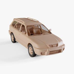 3D 1996 Honda Orthia
