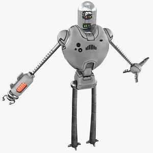 Cartoon Robot 3 3D model