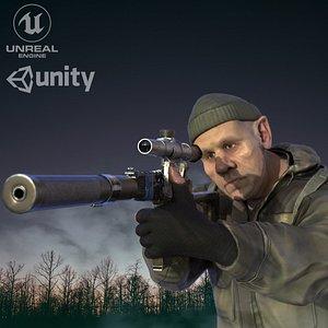 unity unreal 3D model