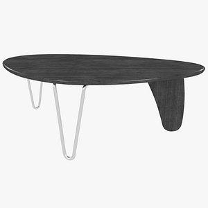 coffee table isamu noguchi 3D model